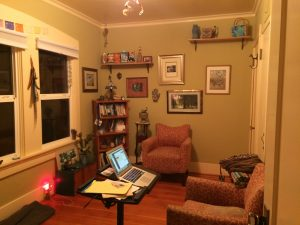 The room where I write